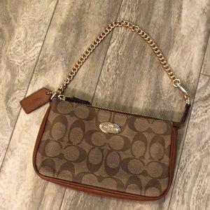 Coach small shoulder purse